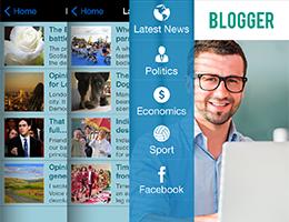 aplicaciones blogger