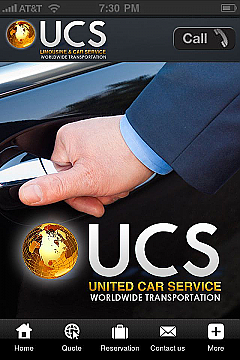 UCS Limo Service App Templates