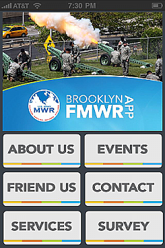 Brooklyn FMWR App Templates