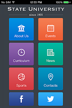 State University App Templates