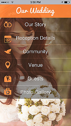 Our Wedding 2 App Templates