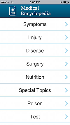 Medical Encyclopedia App Templates