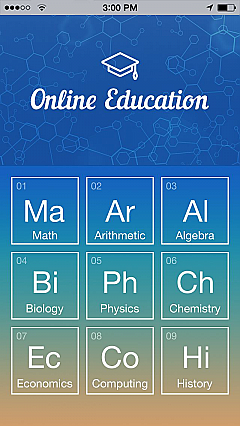 Online Education App Templates