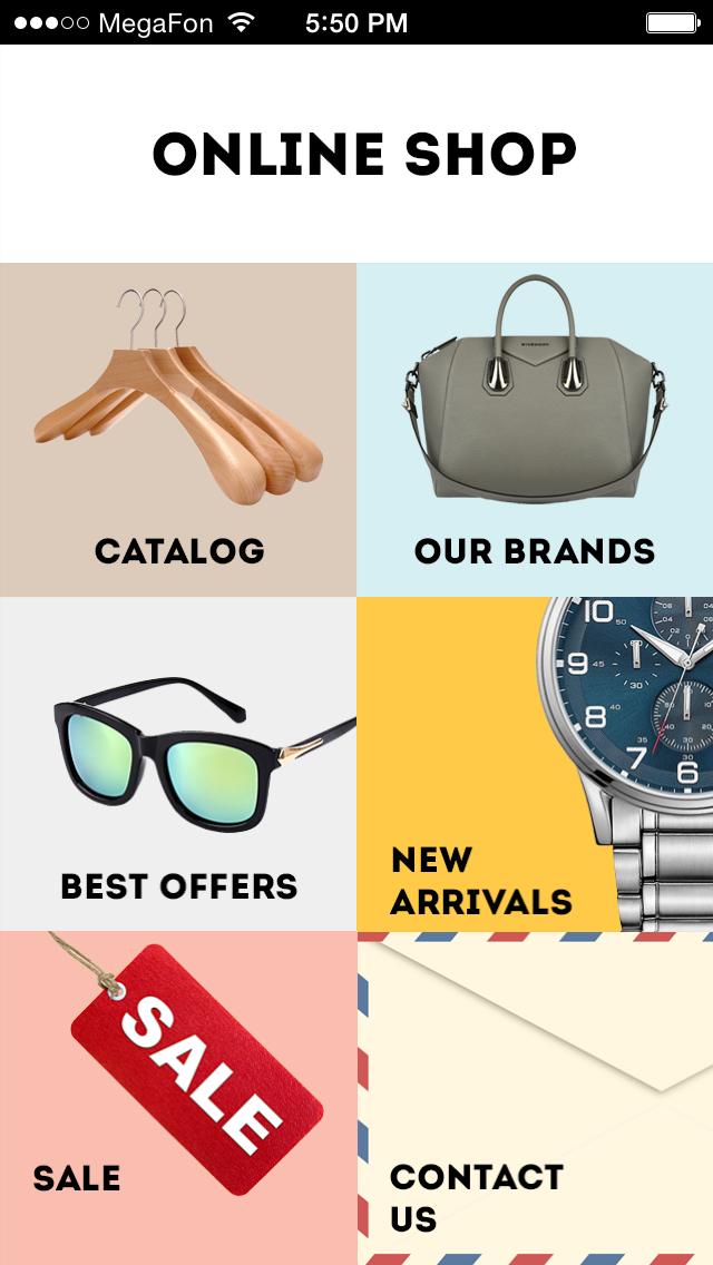 Aplicaciones de comercio m vil para ropa en l nea for Compra online mobili