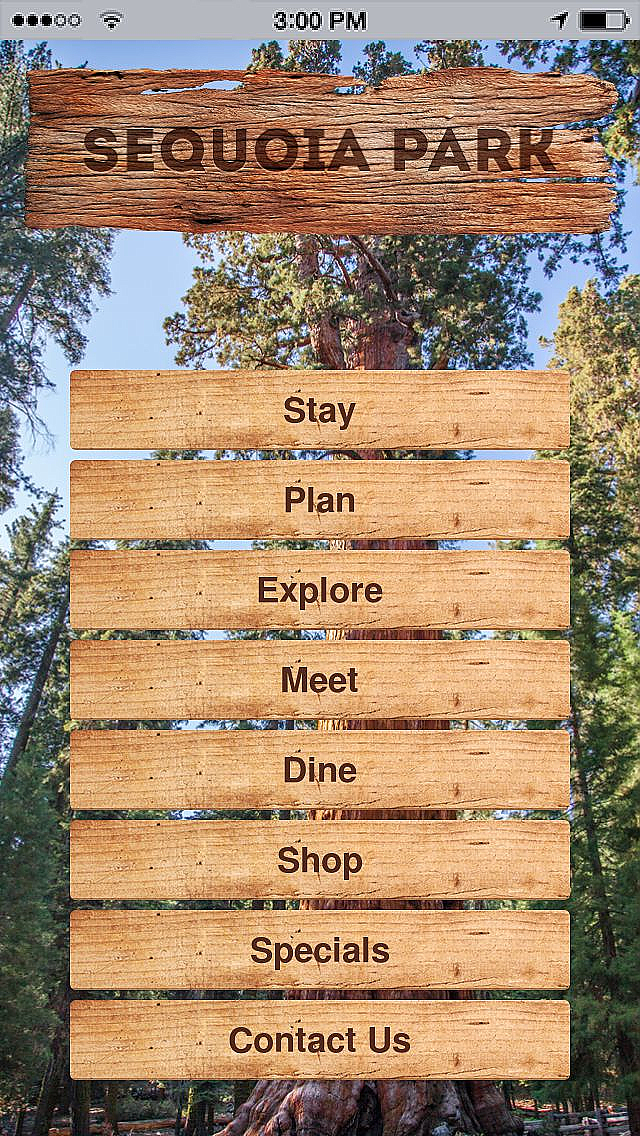 Sequoia Park App Templates